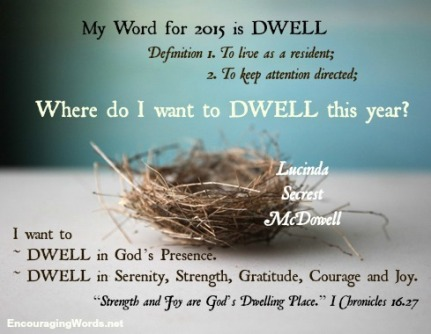 dwellwordfor2015