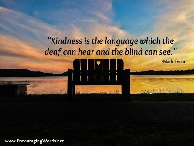 kindnesscotwbench